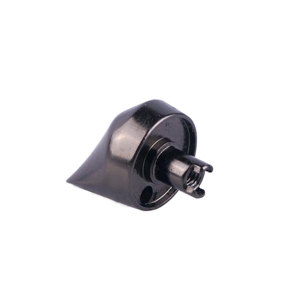 CNC Machined Aluminum black anodized parts