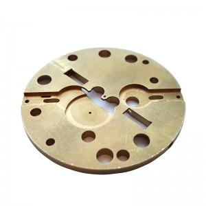 CNC Machined Watch Brass Parts
