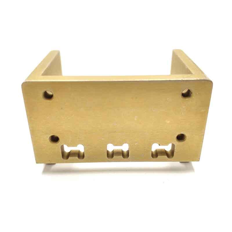 CNC Milling Anodized Gold Parts-2