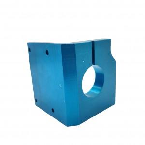 Milling Anodized Blue Parts