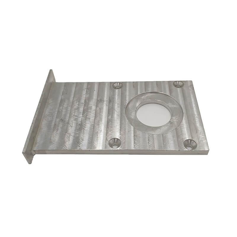 Oem CNC Milling anodized aluminum shell fittings