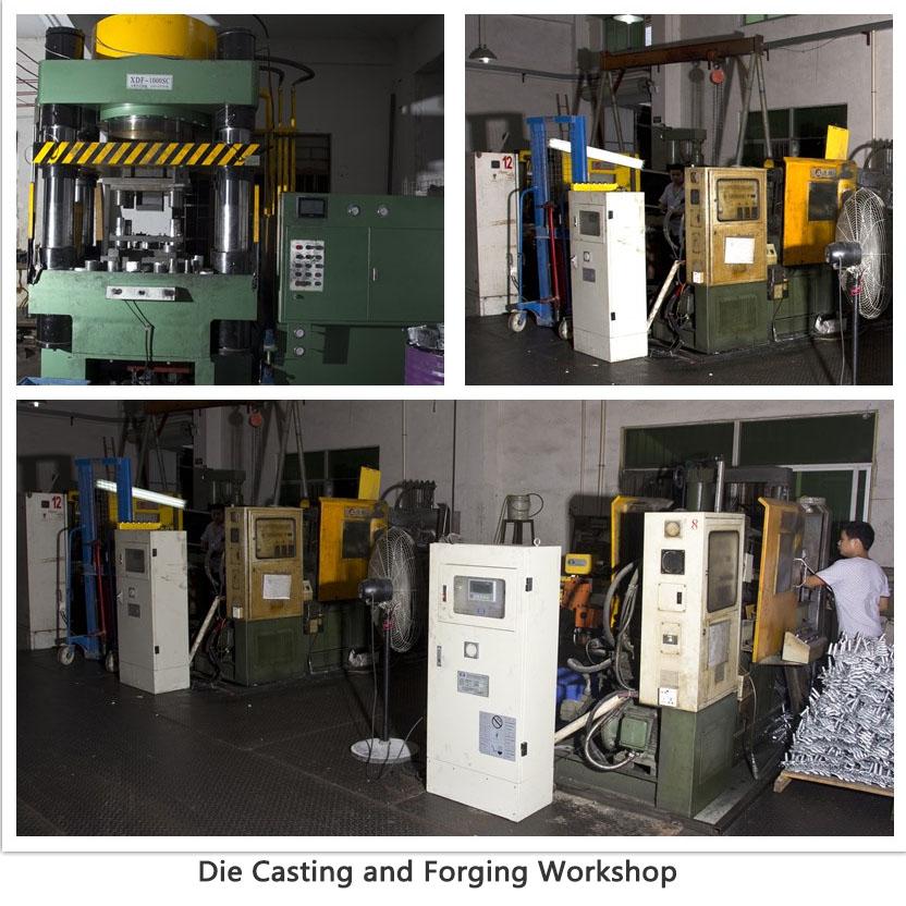 die casting and forging  workshop